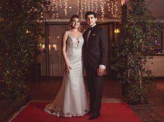 El casamiento de Fernanda y Mariano
