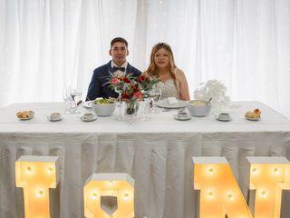 El casamiento de Nélida  y Juan Carlos