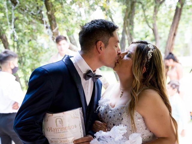 El casamiento de Juan Carlos  y Nélida  en Villa de Mayo, Buenos Aires 1