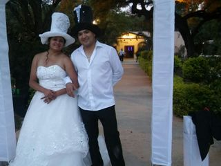 El casamiento de Abigail y Julio