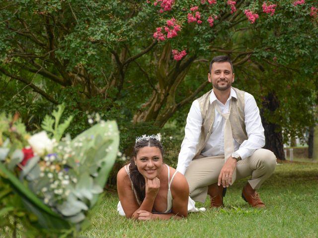 El casamiento de Carina y Mauricio