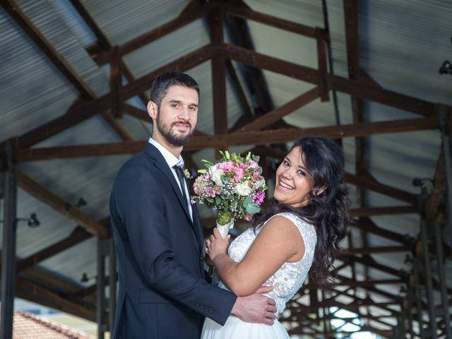 El casamiento de Abril y César