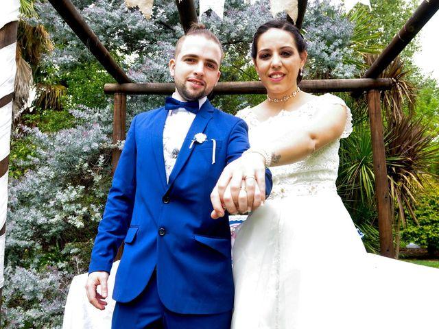 El casamiento de Macarena y Federico