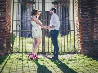El casamiento de Silveria y Federico 1
