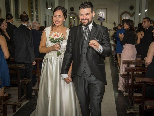 El casamiento de Cecilia y Lucas