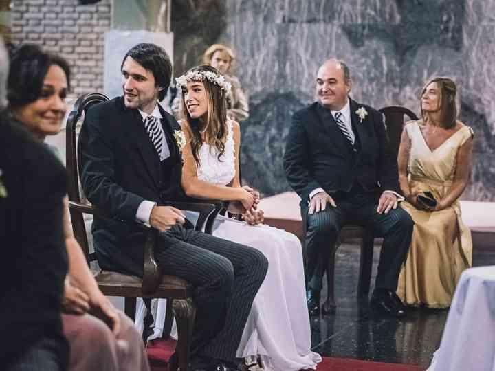 El casamiento de Rochi y Lucas
