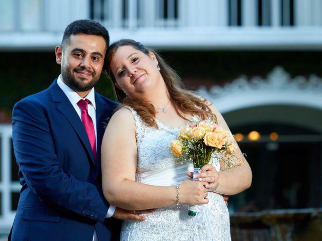 El casamiento de Fernanda y Diego