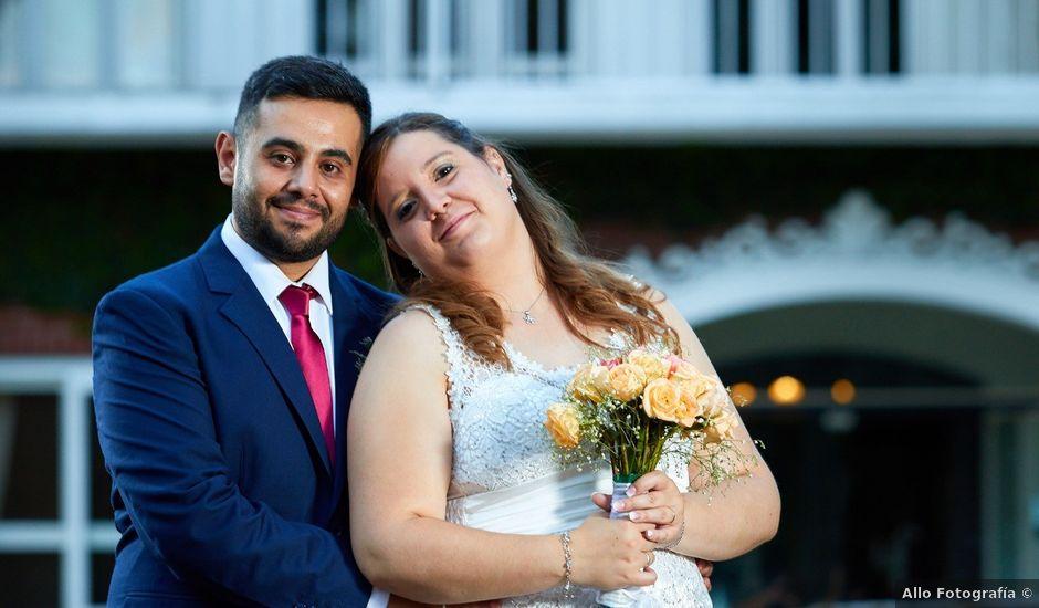 El casamiento de Diego y Fernanda en Luján de Cuyo, Mendoza