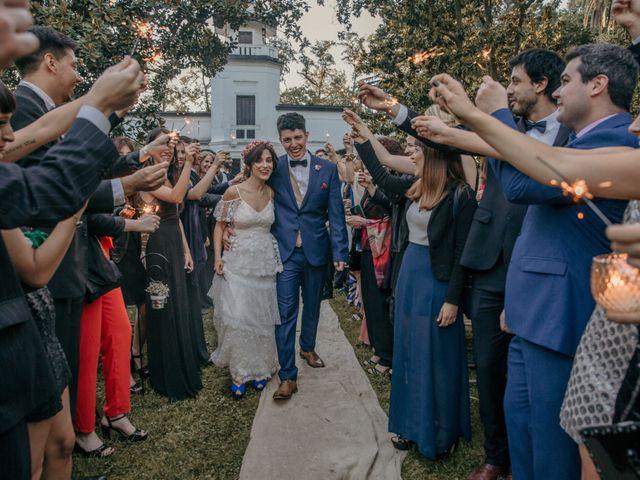 El casamiento de Cande y Nico