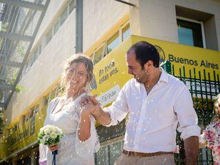 El casamiento de Flor y Darío 2