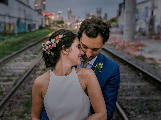 El casamiento de Andrea y Agustín