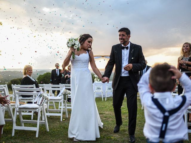 El casamiento de Constanza y Dario