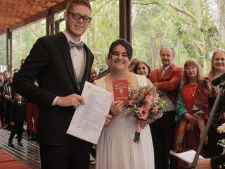 El casamiento de Bryan Mescher y Vanesa Mescher