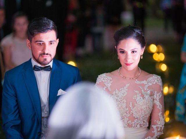 El casamiento de Victoria y Matias