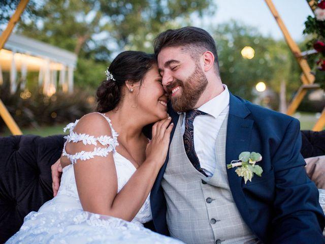 El casamiento de Atenas y David en Funes, Santa Fe 107