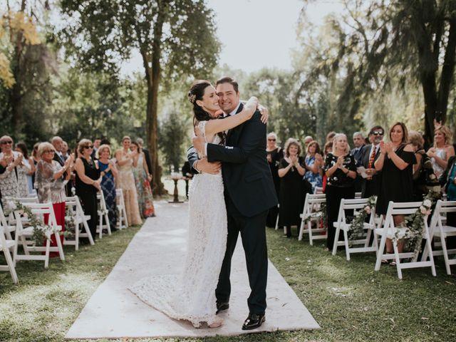 El casamiento de Eugenia y Pedro