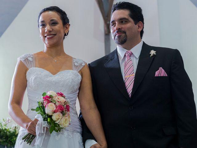 El casamiento de Cecilia y Esteban