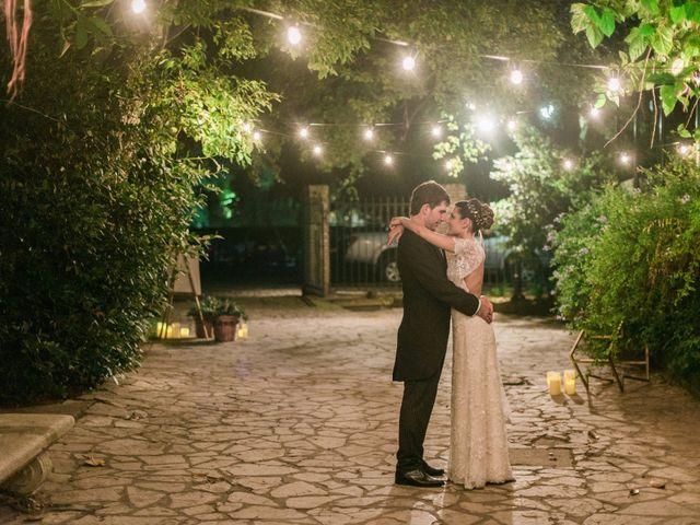 El casamiento de Agustina y Juan