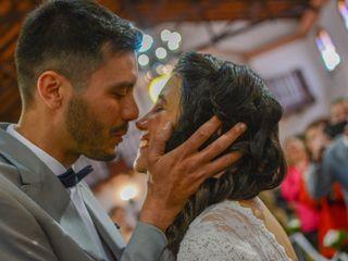 El casamiento de María y Franco