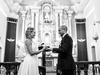 El casamiento de Florencia y Gonzalo