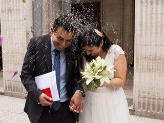 El casamiento de Jimena y David