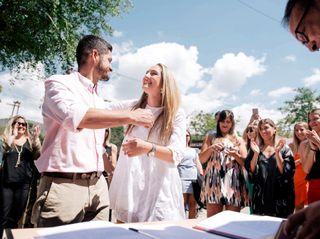 El casamiento de Magui y Juan