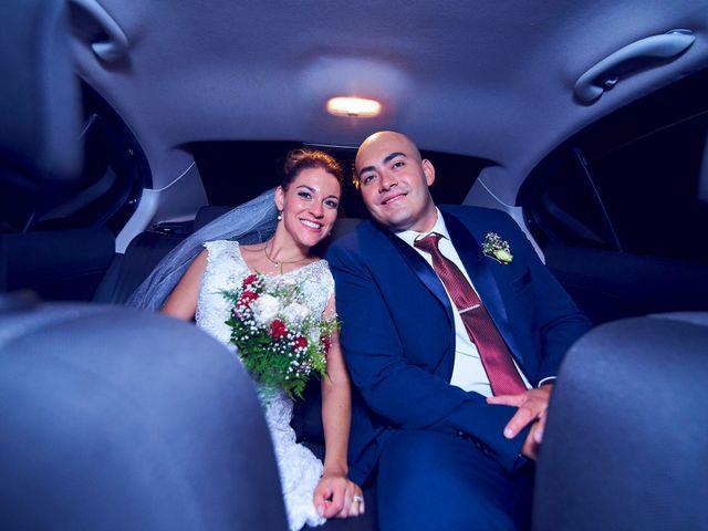 El casamiento de Donna y Enrique