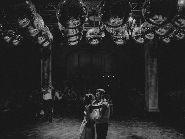 El casamiento de Victoria y Rodrigo