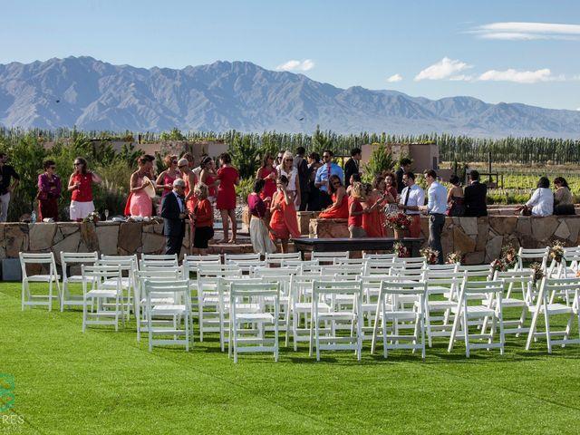 El casamiento de Federico y Delfina en Mendoza, Mendoza 3