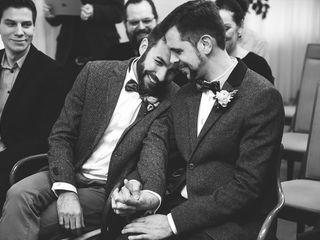 El casamiento de Antonio y Lucca