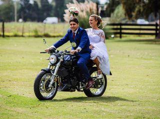 El casamiento de Franco  y Celina