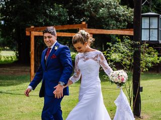 El casamiento de Franco  y Celina 3