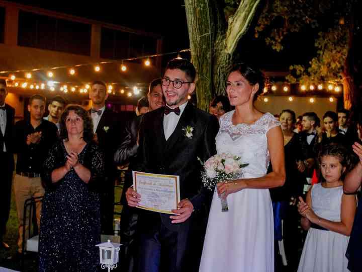 El casamiento de Rocio y Mauricio