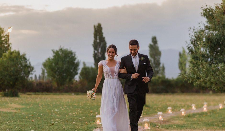 El casamiento de Santi y Paula en Lola Mora, Mendoza