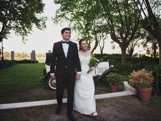 El casamiento de Daniela y Marcelo