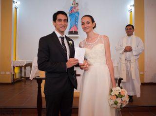 El casamiento de Cynthia  y Nicolás