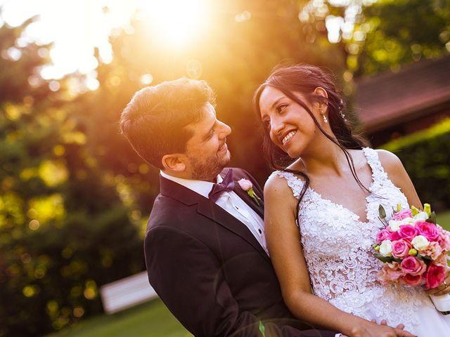 El casamiento de Marcos y Laura