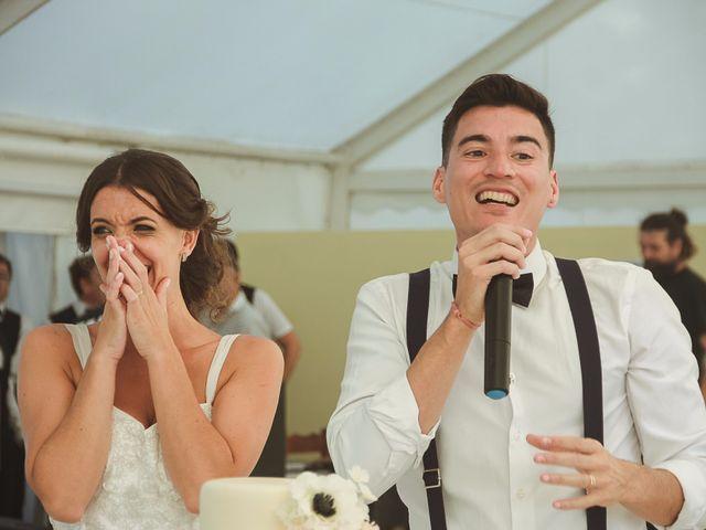 El casamiento de Albertina y Marcelo
