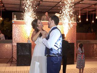 El casamiento de Daniela y Marcos