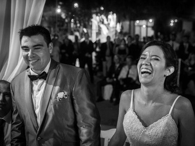 El casamiento de Tefy y Fede
