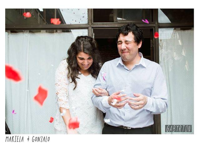 El casamiento de Mariela y Gonzalo