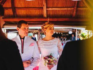 El casamiento de Luciano y Nerea