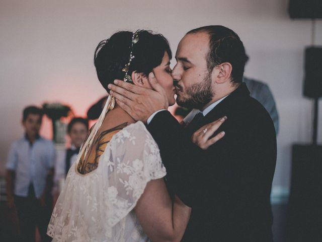 El casamiento de Fanny y Martin
