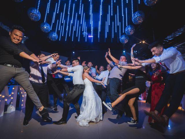 El casamiento de Mell y Nico