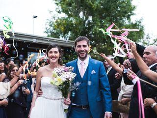 El casamiento de Annie y Santi