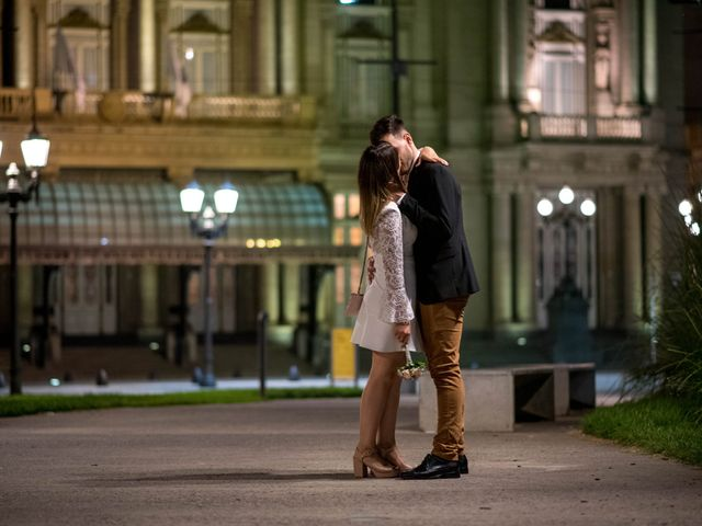 El casamiento de Leandro y Romina en San Telmo, Capital Federal 8