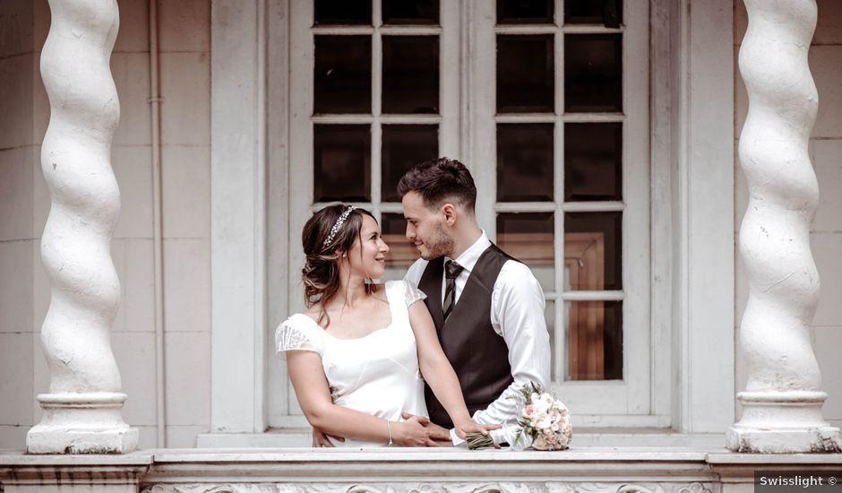 El casamiento de Leandro y Romina en San Telmo, Capital Federal