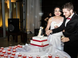 El casamiento de Lucrecia y Juan Manuel