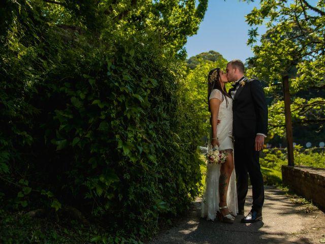 El casamiento de Lucia y Chris