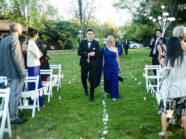 El casamiento de David y Andreina en Ingeniero Maschwitz, Buenos Aires 18